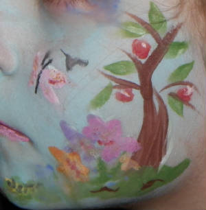 Face painting workshops in South Glos